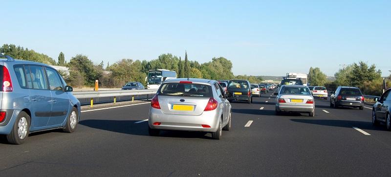 autostrada prowadząca do Frankfurtu