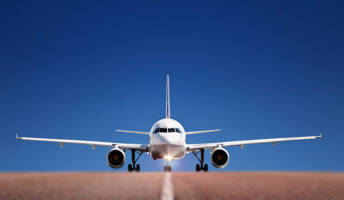 samolot wyruszajacy do Niemiec