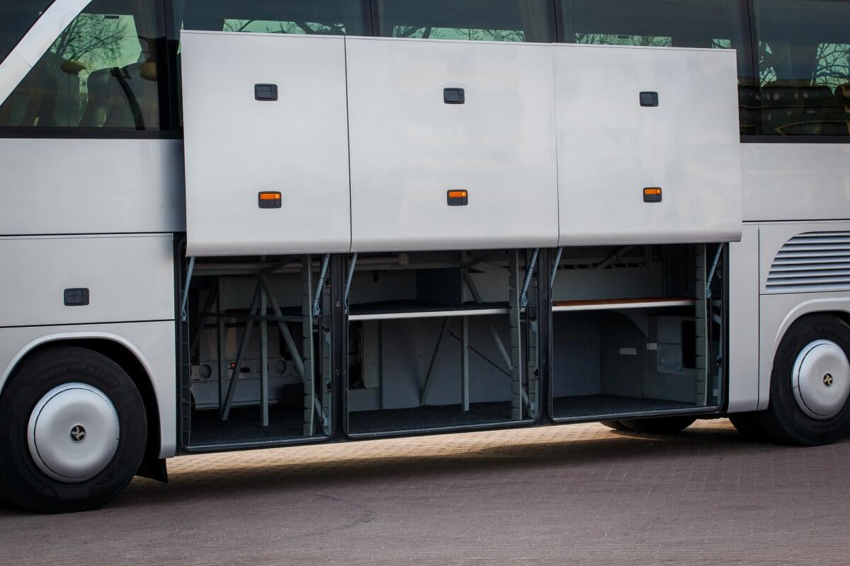 Bagażnik w busie setra 416 hdh Białystok