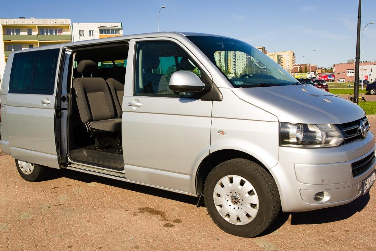 Volkswagen caravelle bus do przewozu osób Białystok